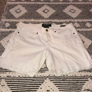 White Lucky Brand Jean Shorts
